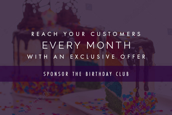 Sponsor the Birthday Club