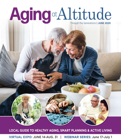 Aging at Altitude Cover